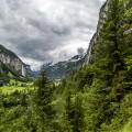 Lauterbrunnental-Aussicht
