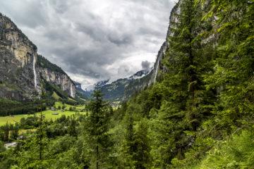 Lauterbrunnen - das Tal der tosenden Wasserfälle
