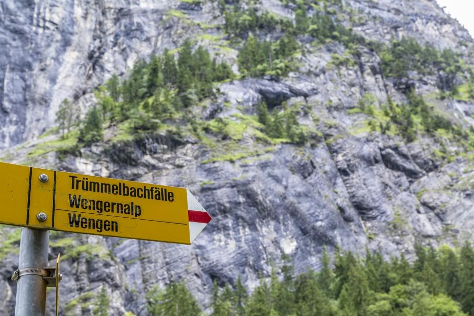 Lauterbrunnental-Wandern