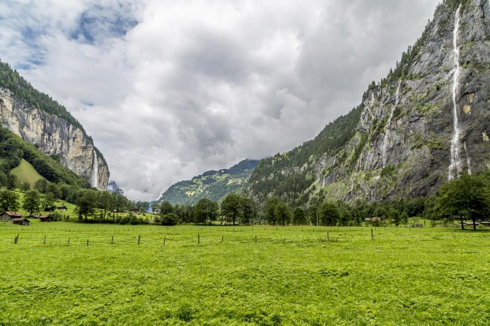 Lauterbrunnental-Wasserfälle