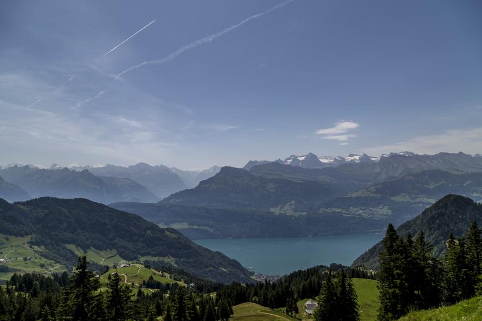 Rigi-Scheidegg-Aussicht