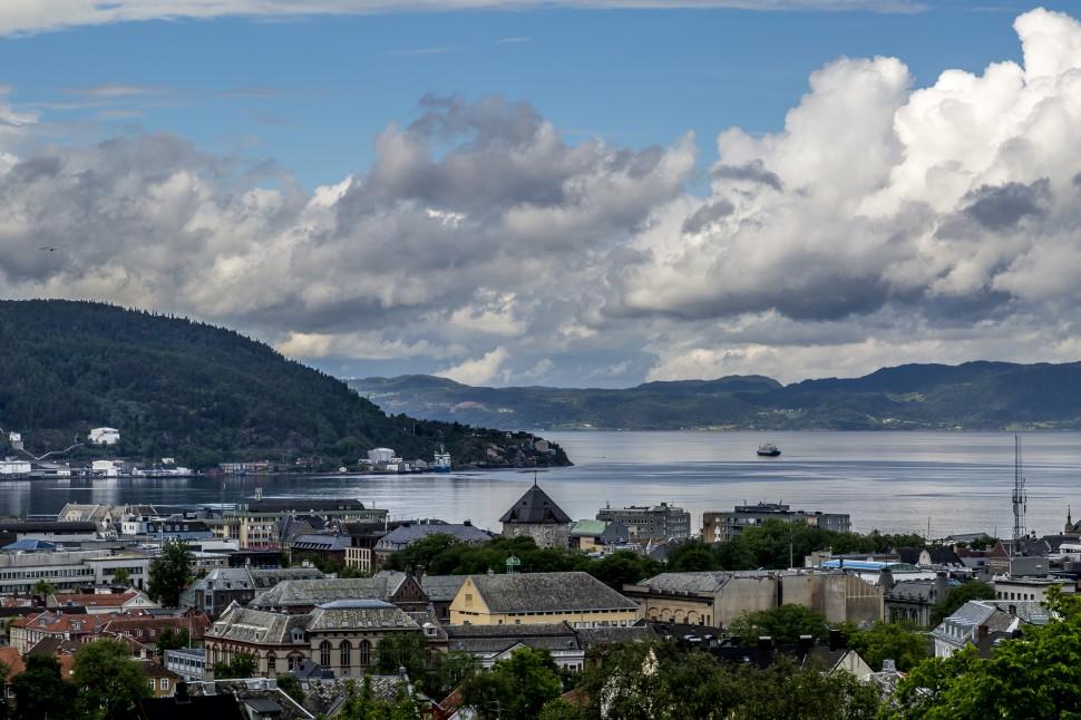 Trondheim-Aussicht-Festung