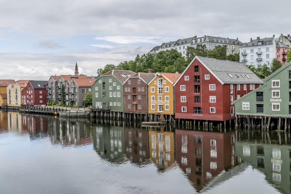Trondheim-Nidelva-Lagerfront