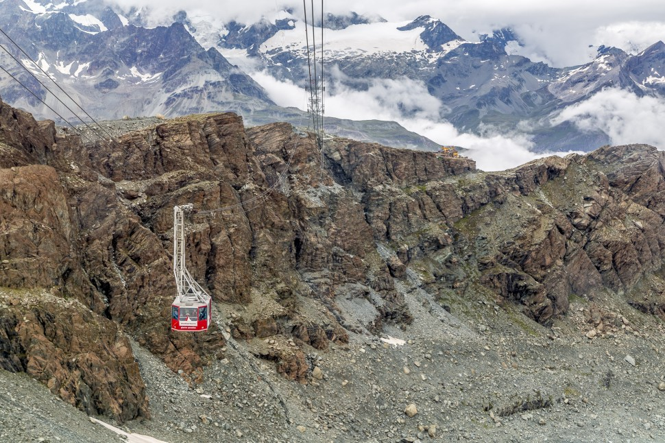 Zermatt-Klein-Matterhorn-Gondel