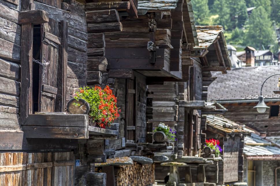 Zermatt-historischer-Kern