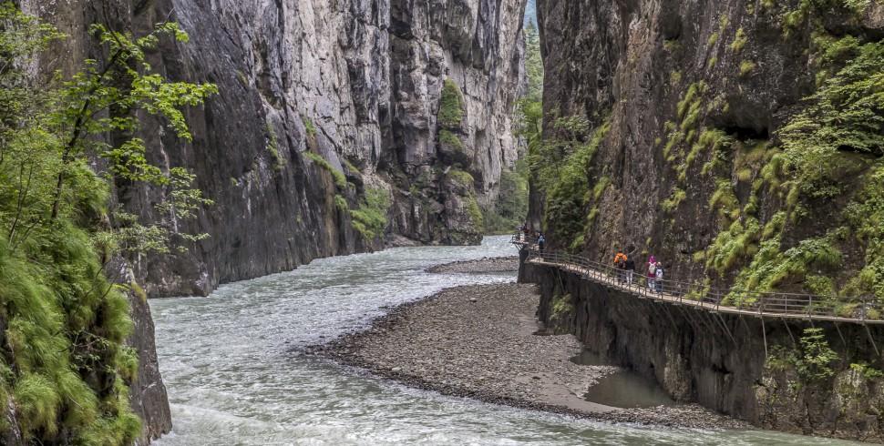 Inspirierende Landschaften der Jungfrau Region