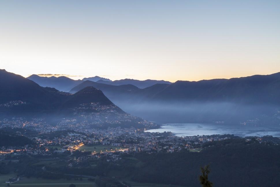 Lugano-Panorama