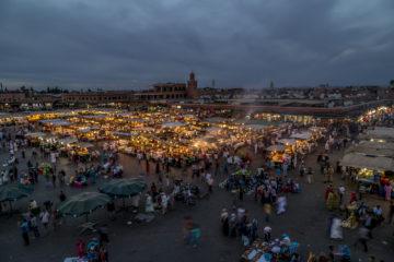 Djemaa el Fna - das Herz von Marrakesch