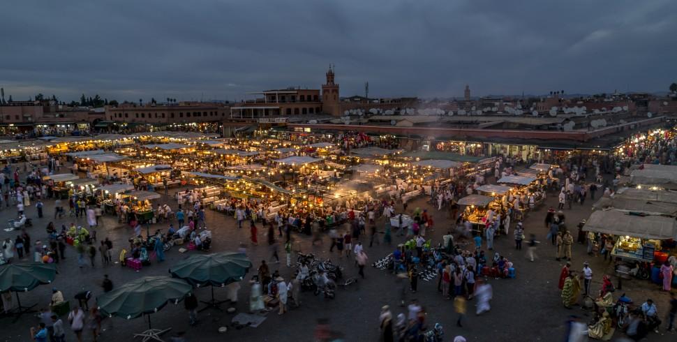 Djemaa el Fna – das Herz von Marrakesch