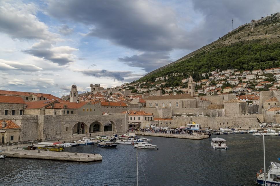 Dubrovnik-hafenanlage