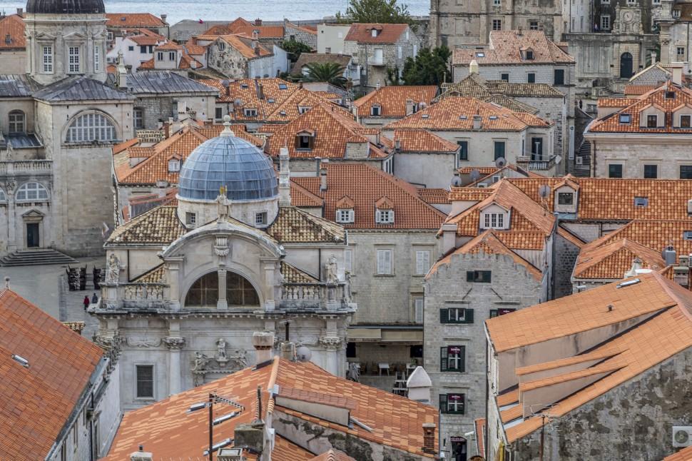 Dubrovnik-vogelperspektive