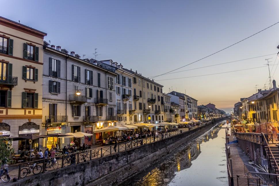 Milano-Navigli-Dawn