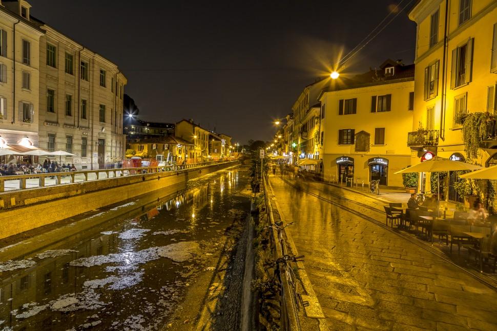 Milano-Navigli-Nacht