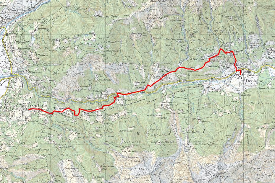 Val-Vigezzo-Wanderkarte