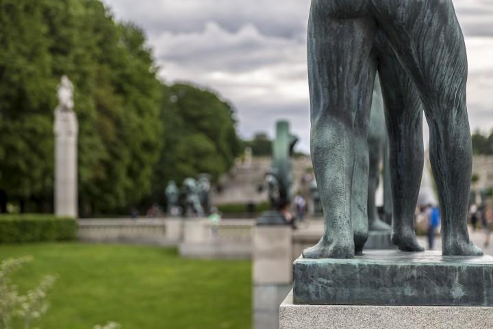 Ein Spaziergang durch Oslo