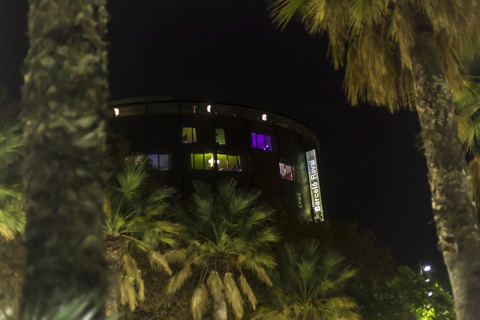 Barcelo-Raval-Nacht