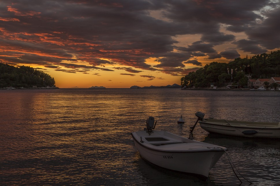 Cavtat-Konavle-sunset