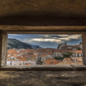 A glimpse of the Dubrovnik Riviera