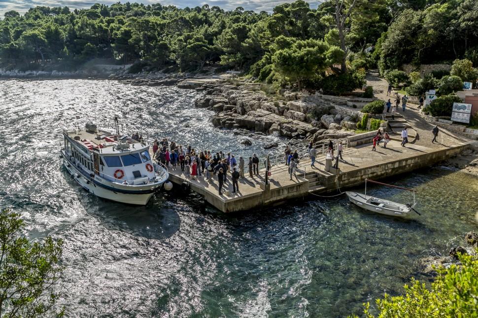 Dubrovnik-Lokrum-Hafen