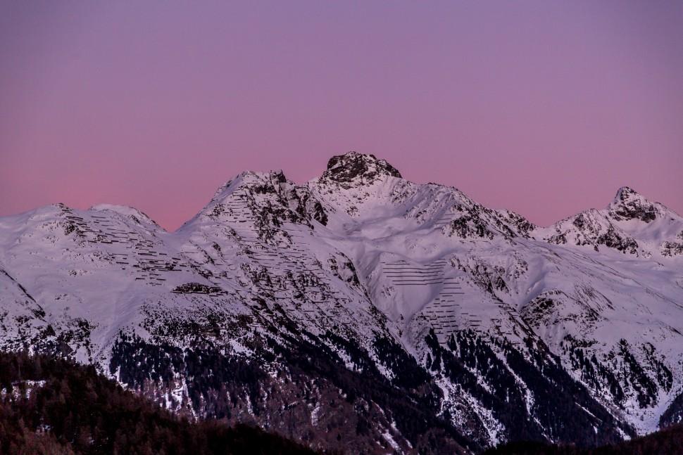 Abendstimmung-St-Moritz