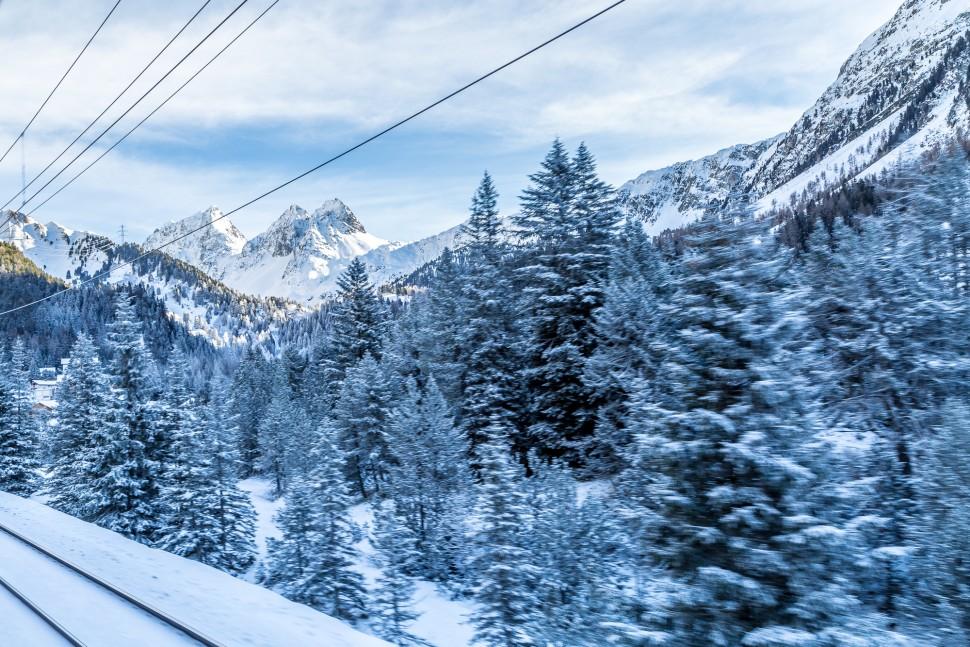 Berguen-Winterlandschaft