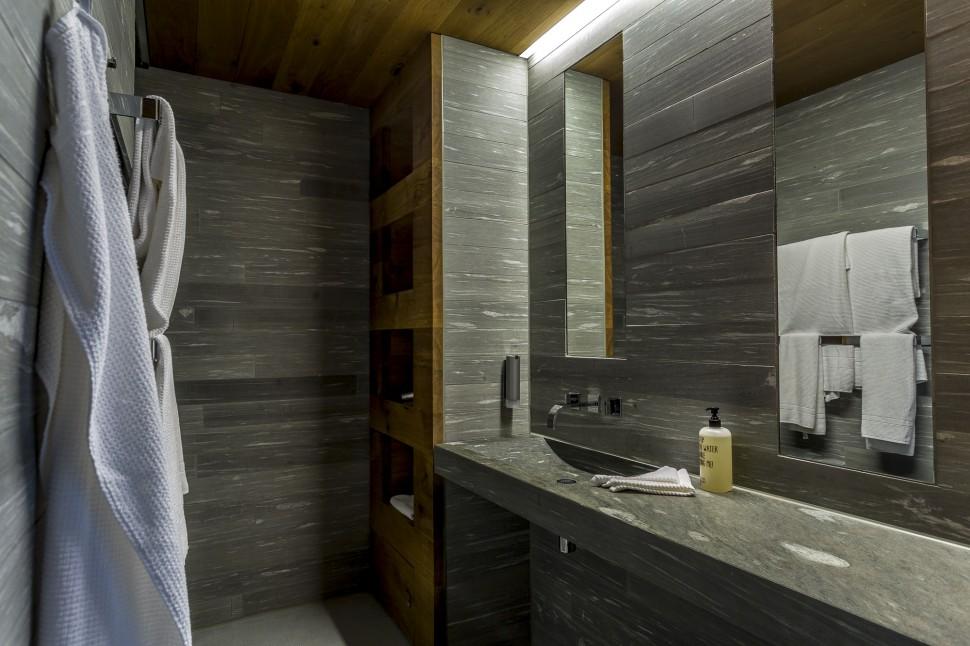 Rocksresort-Badezimmer
