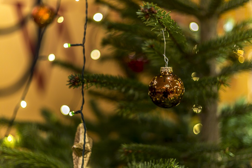 Weihnachten-Beleuchtung
