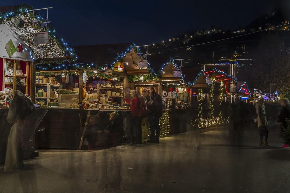 Weihnachtsmarkt-Montreux