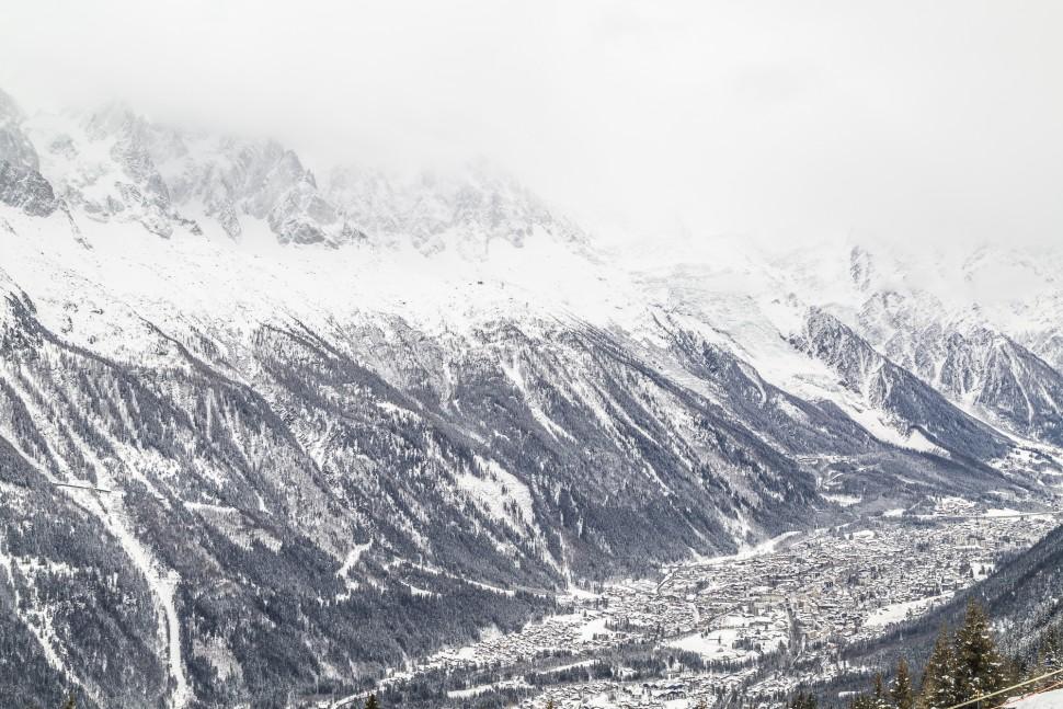 Chamonix-Aussicht