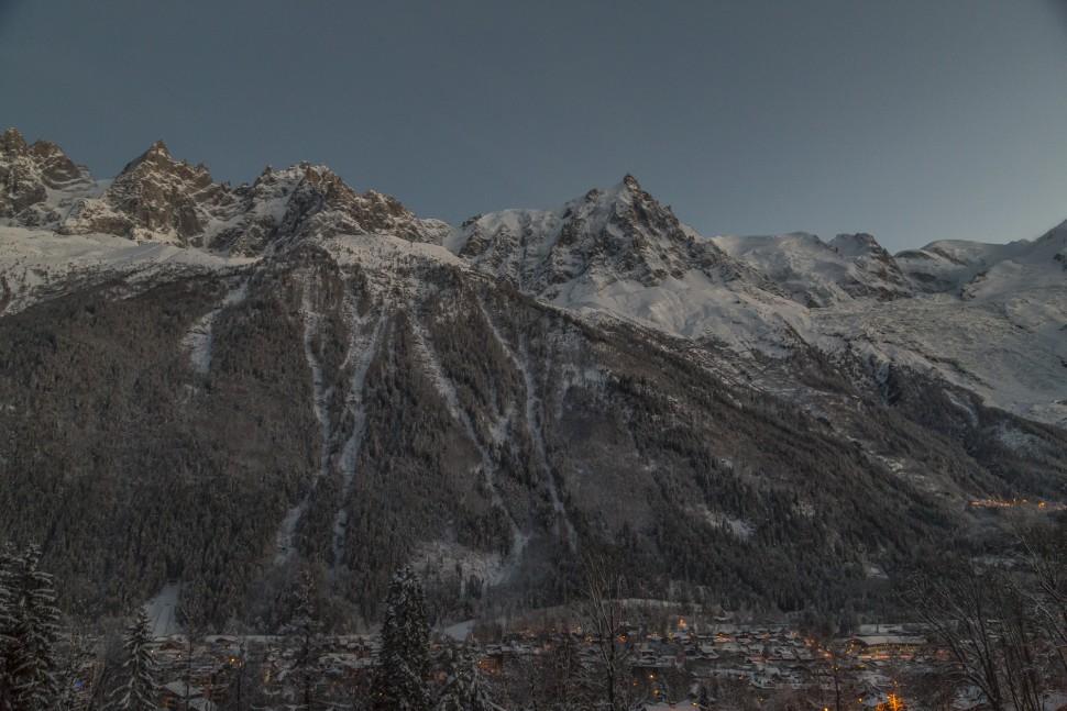 Chamonix-Mont-Blanc-Massiv