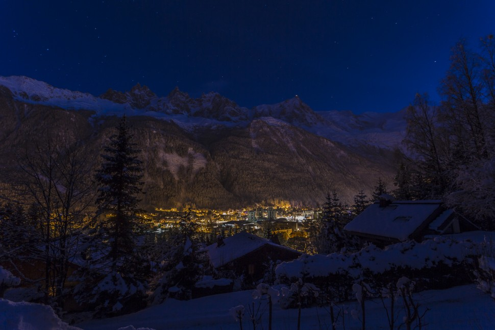 Chamonix-Nacht