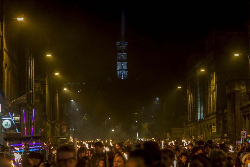 Edinburgh-torchlight-procession
