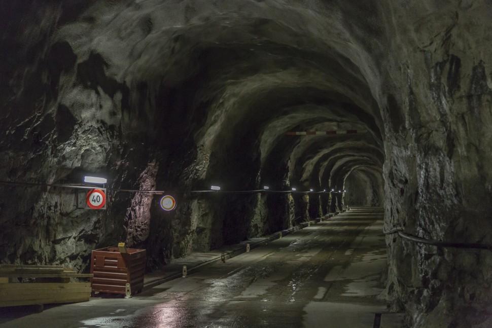 Grimsel-Staumauer-Tunnels