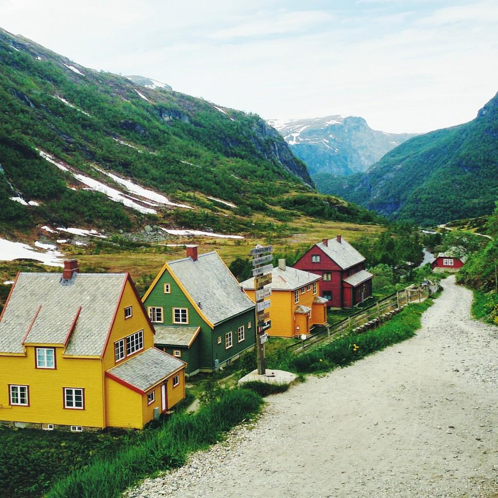 Juni-Norwegen