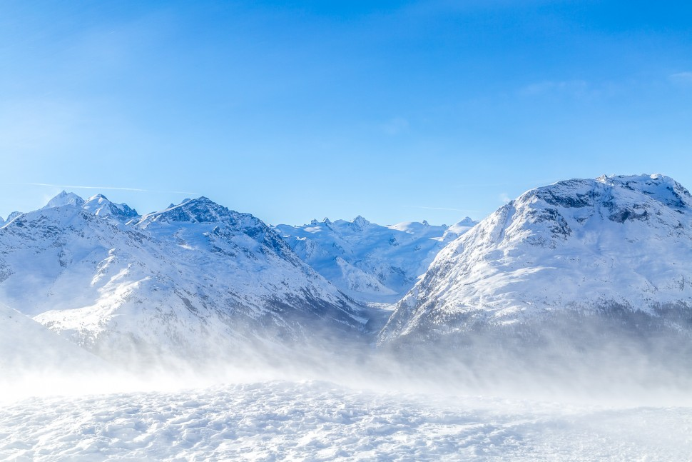 Samedan-Winter