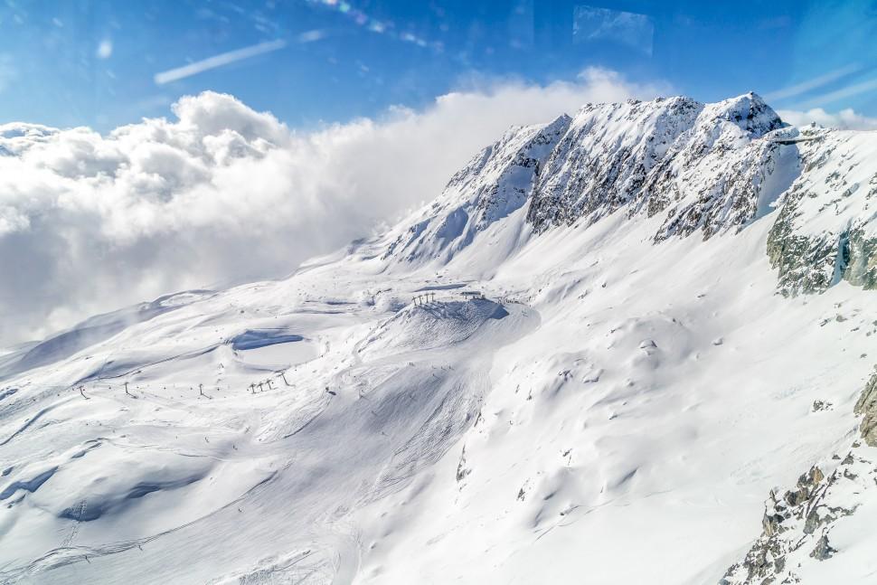 Aletsch Arena Eggishorn Skigebiet