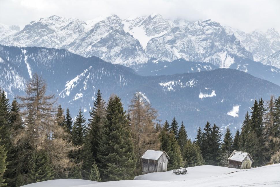 Innichen-Schneeschuhtour