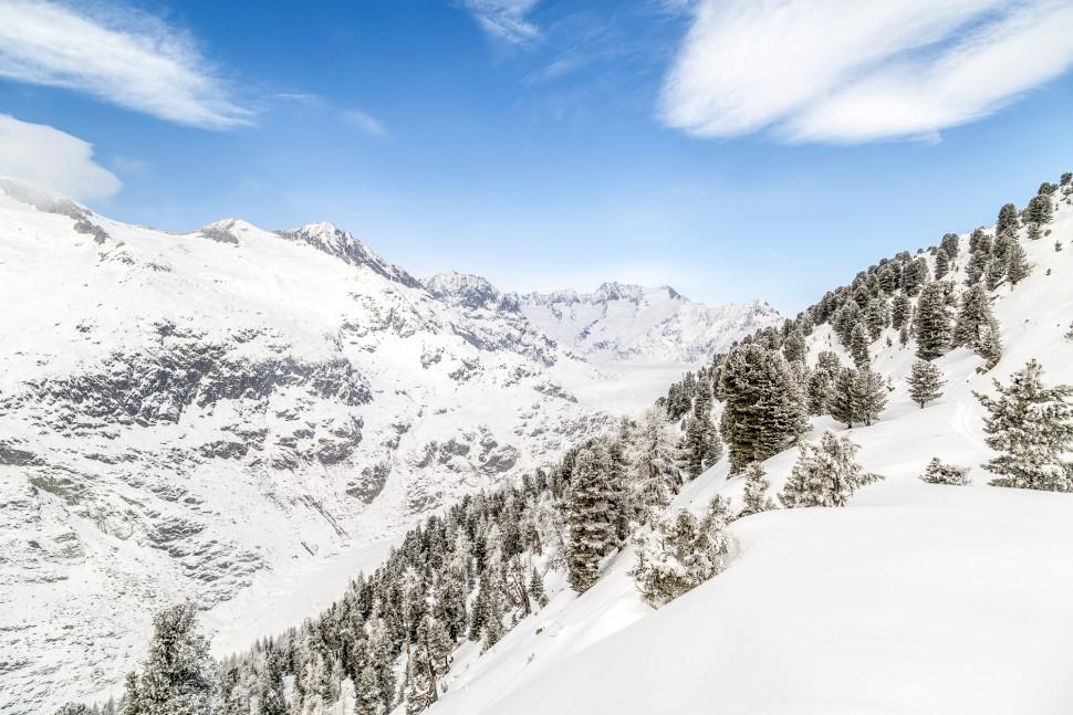 Riederalp-Winterpanorama