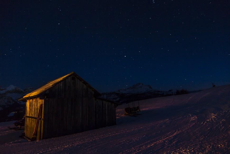 Sternennacht-Dolomiten