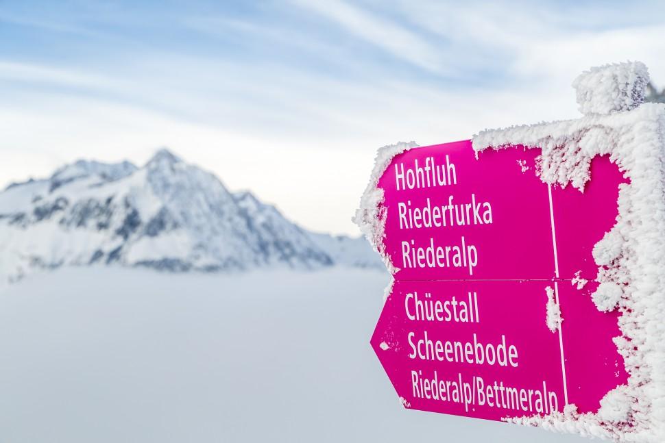 Winterwandern-Riederalp
