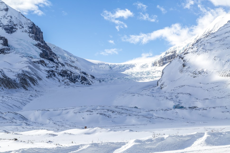 Athabasca-Glacier-Icefields-Parkway-aussicht