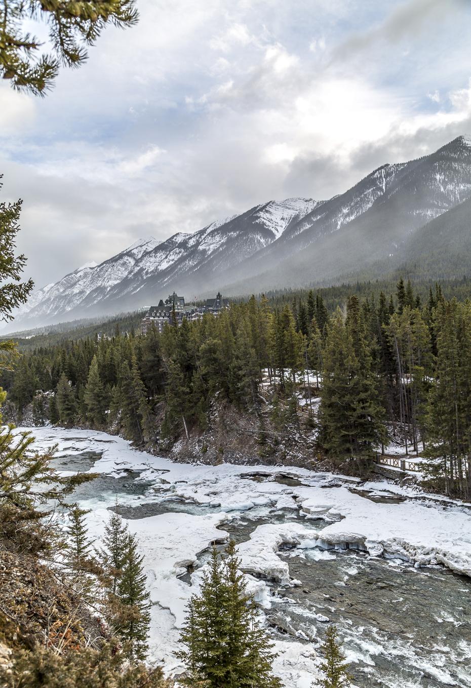 Bow River Trail Banff
