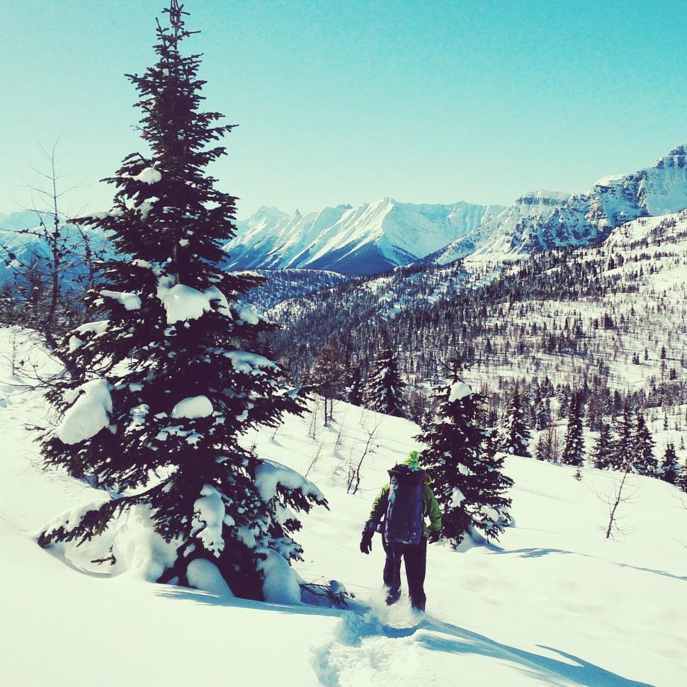British-Columbia-Schneeschuhtour