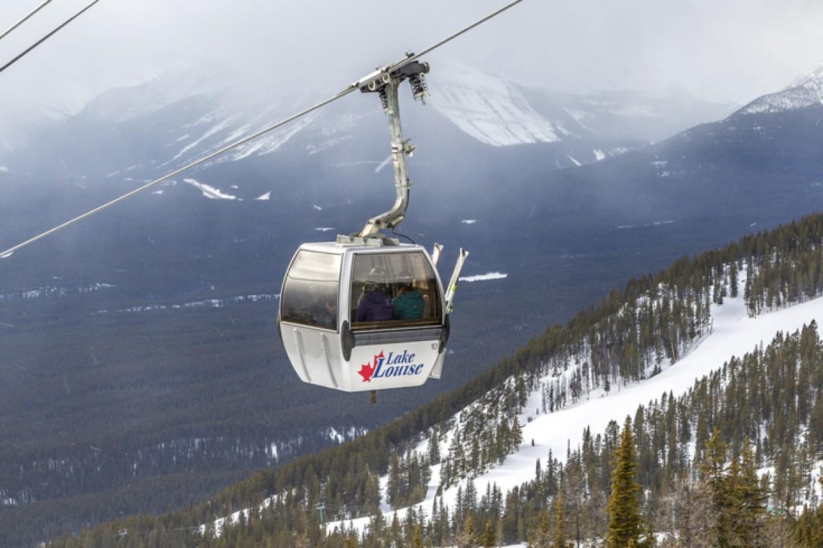 Lake Louise – Skifahren, wo Bären schlafen