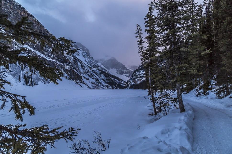 Lake-Louise-Winterwandern