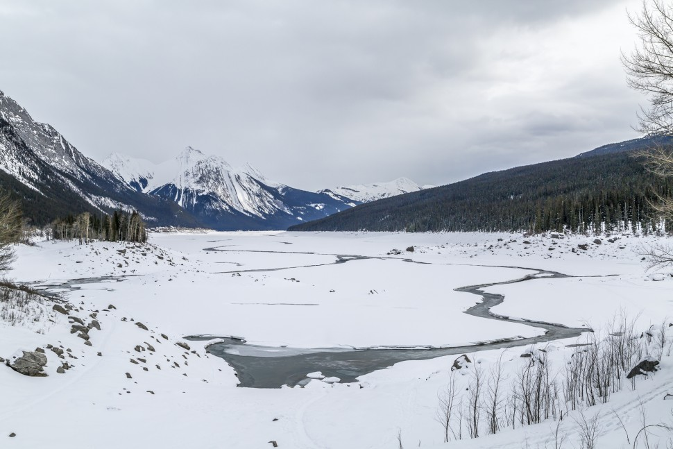 Medicine-Lake-Jasper-Nationalpark