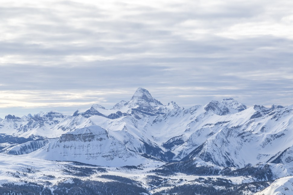 Mount-Assiniboin-from-Lookout-Mountain