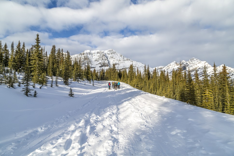 Peyto-Lake-Skitour