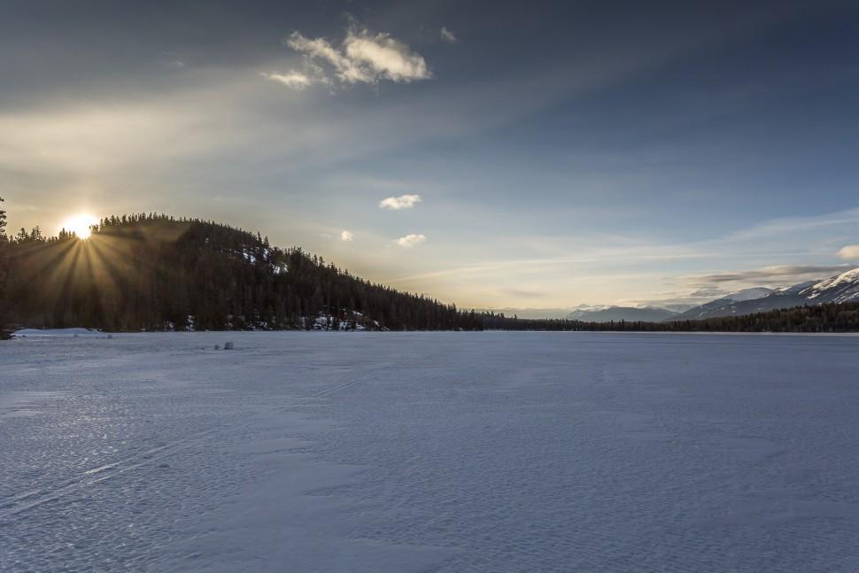 Pyramid-Lake-Sonnenaufgang