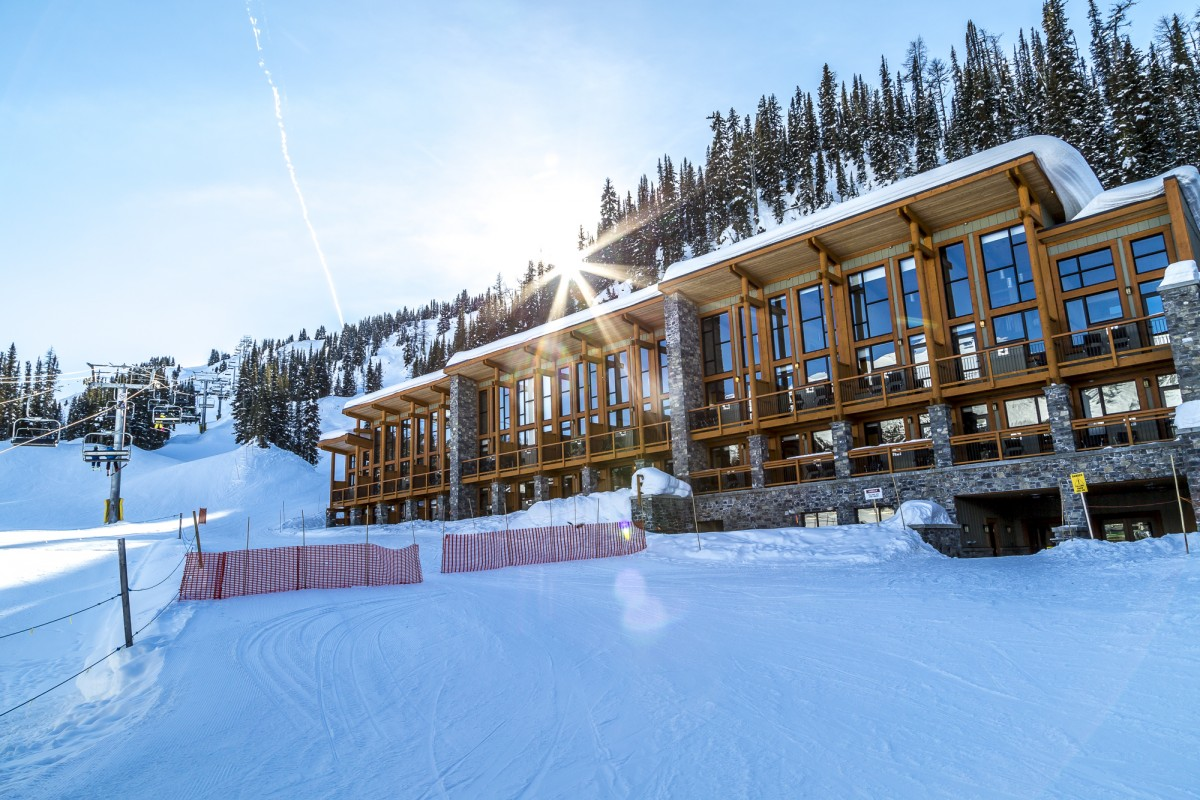 Sunshine Village – ski-in ski-out Lodge in den Rockies